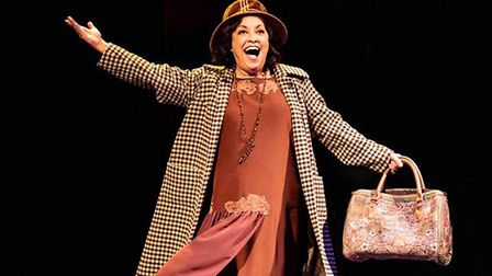 Ria Jones as Momma Rose in Gypsy. Picture: Johan Persson