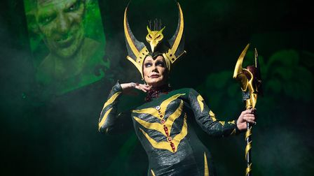 Craig Revel Horwood as The Wicked Queen Photo: Phil Tragen
