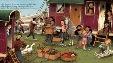 Nell & the Circus of Dreams, by Nell Gifford and Briony May Smith, published by Oxford University Pr
