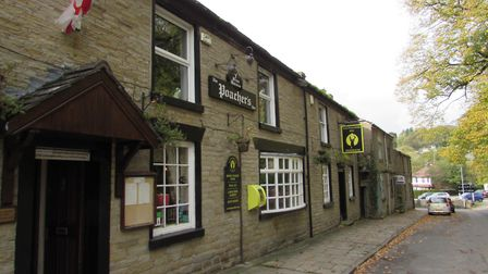 The Poacher's Inn: a good stop for hungry walkers
