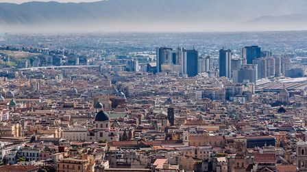 City skyline from Castel Sant'Elmo. (Photo by Raquel Maria Carbonell Pagola/LightRocket via Getty Im