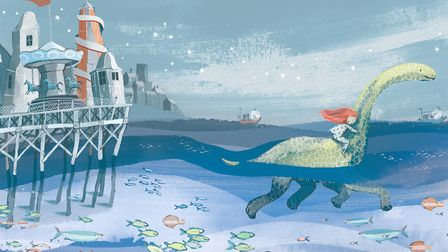 The Girl and the Dinosaur is Bloomsburys picture book of the year