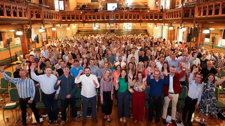 Hazlewoods Annual Staff Conference - this year celebrating 100 years of Hazlewoods. Held at Cheltenh