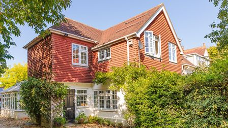 From the outside Laura's home looks like a classic Edwardian country house