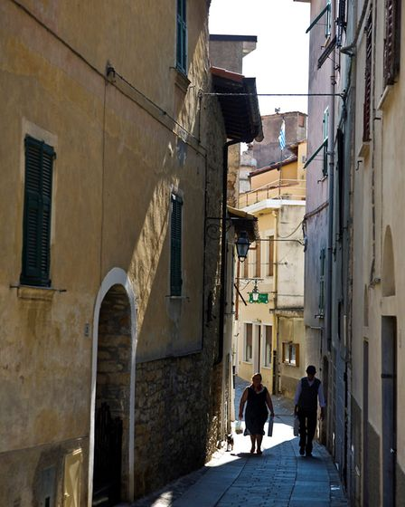 One of the famous narrow streets in Italy. Picture: GettyImages
