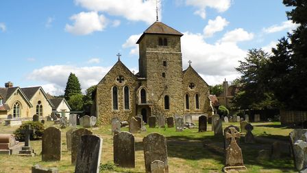 4881 – St Bartholomew's, Haslemere, the burial place of Inspector William Donaldson, the first Surre