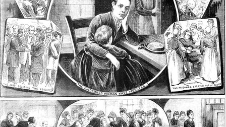 Ri-1 – The trial and conviction of Kate Webster, the Richmond murderess, in July 1879