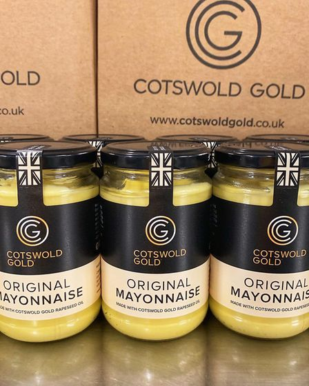 Charlie Beldam of Cotswold Gold mayonnaise