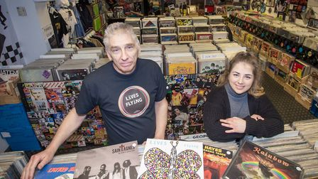 The Record Store is a family run business founded in 2016 by father and daughter duo, Vince and Tahl