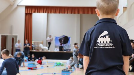 The Trainmaster set-up in action. Photo: charlottecaptures.co.uk