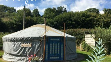 Blackdown Yurts is a fantastic way to mark a special celebration