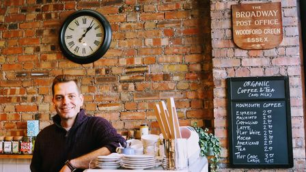 Jan has gone from running a large wholesale food company to doing what he loves most