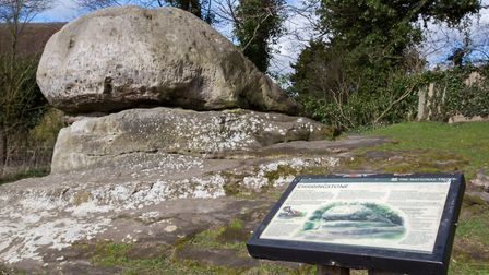The famous Chiding Stone is where nagging wives and ne''er-do-wells were chastised (photo: Manu Palo