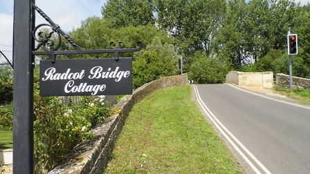 Radcot Bridge, where the battle occurred in December 1387, that resulted in defeat for the forces lo