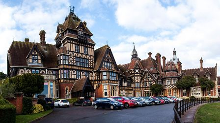 Baronial Farnborough Hill was the home of the Empress Eugnie, wife of Napoleon III, and became her c
