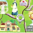 Wellow in Hampshire Illustration: Lucy Atkinson