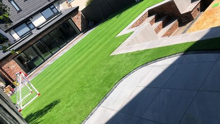 The artificial lawns that look real and can be installed in just days.