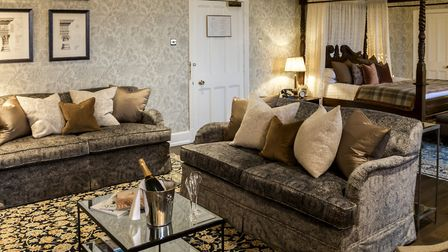 Push out the boat and stay in one of the Deluxe suites in the Manor (photo: Steve Lancefield)