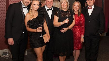 Danny Fallows, Emily Curley, Jonathan Russell, Louise Russell, Sarah Crompton and Steve Crompton
