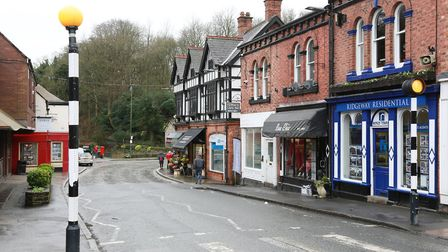 Businesses along The Cross