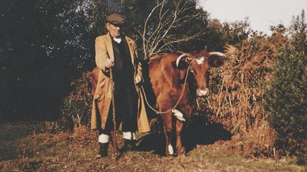 David's grandfather Len - a true New Forest character