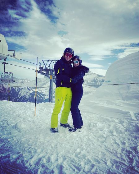 Love on the slopes!