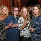 Jennifer Newman with Jenny Thrussell, Victoria Rice and Kathleen Carline *** Local Caption *** Peter
