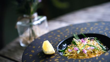 A dish like this from The Marram Grass gives a hint of what is to come in Liverpool. Ioan Said Photography