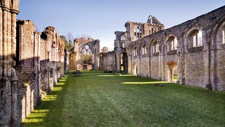 Famous visitors to Netley Abbey ruins have included the poet Thomas Grey (Elegy Written in a Country