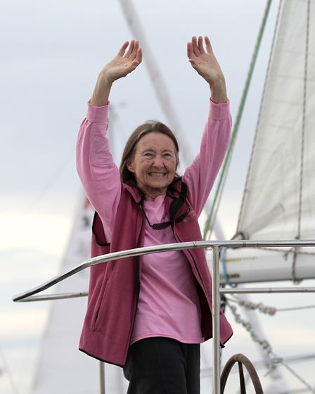 77-year-old British woman Jeanne Socrates becomes the oldest person to sail around the world alone,