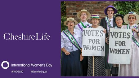 Cheshire Life supports International Women's Day
