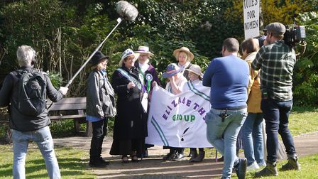 Elizabeth's Group have attracted media attention for the campaign to get a statue of Elizabeth erect