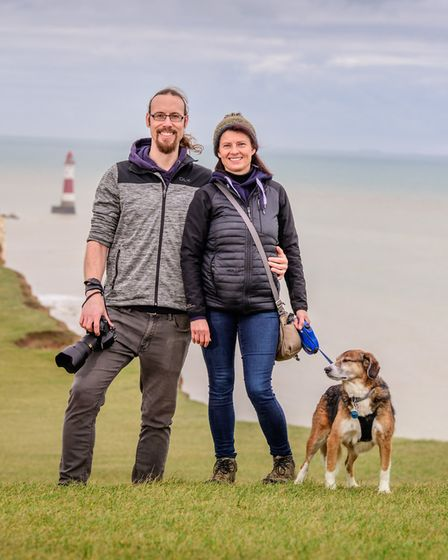 Kate Schuler and Christopher Shoebridge - A Year in the South DownsPicture by Jim Holden