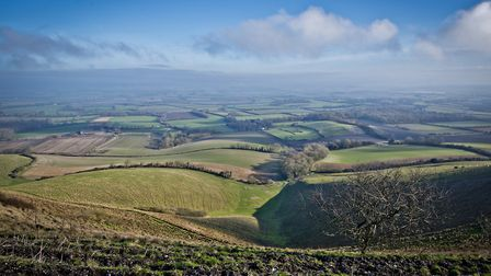 February - View over the Weald