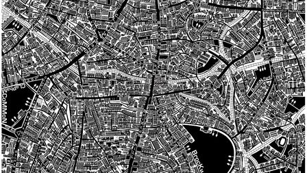 South London map by Lucie Conoley