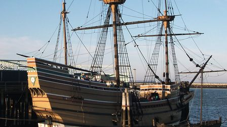 The Mayflower II replica will be at the centre of American commemorations