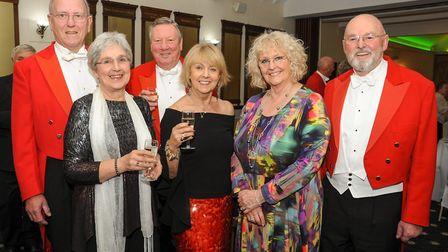 Warrington Golf Club, North Cheshire Golf Captains 40th Dinner. Picture Ray and Frances Feldwick, Al