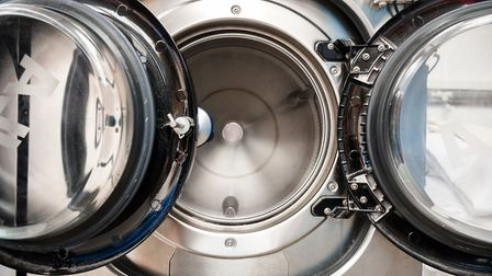 Energy efficient washing machines rely on a biomass boiler