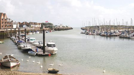 The River Arun flows into the sea at Littlehampton (c) Getty Images/iStockphoto/Nickos