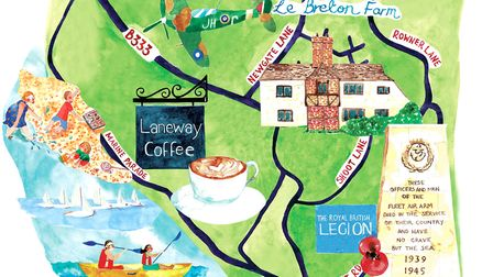 Lee-on-the-solent Illustration: Lucy Atkinson