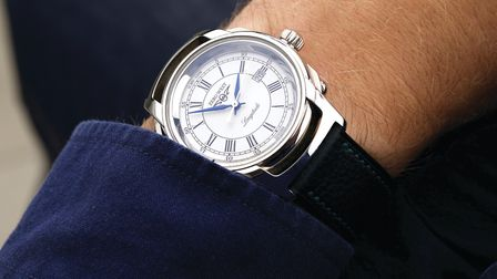 Zero West's L1 Longtitude watch, which is limited to just 20 pieces Photo: Chris Ison