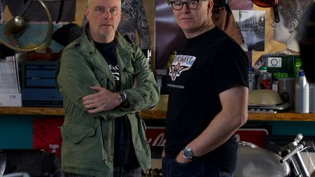 Graham Collins and Andrew Brabyn - the founders and force behind Zero West in Emsworth Photo: Chris
