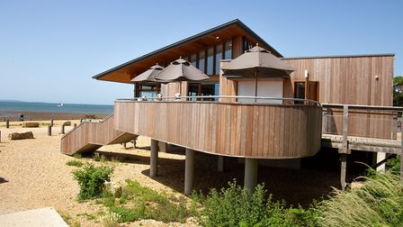 Being on stilts means The Lookout at Lepe Country Park is no longer vulnerable to flooding