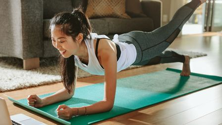 It's easy to exercise at home