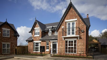 Swan Green in the heart of Knutsford's, Cheshire countryside a development from luxury housebuilding