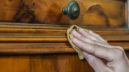Although some people believe that restoring antique furniture isn't a good idea, as long as your pie