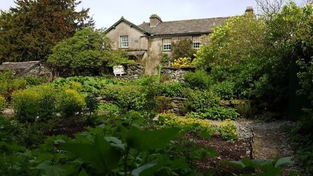 Beatrix Potter's Garden at Hill Top by Sylvia Möritz