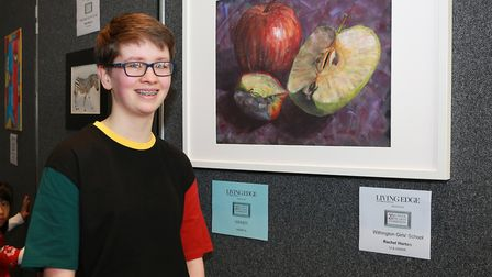 Rachel Horton, Winner in the Aged 14 and under category