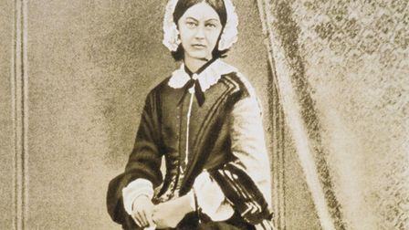 Portrait of Florence Nightingale Photo: Getty Images/Photos.com