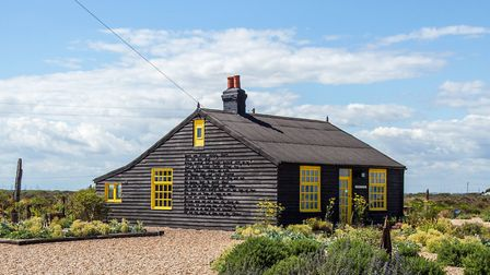 Sun Cottage, Dungeness, where writer and filmmaker Derek Jarman lived for many years (photo: Manu Pa